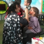 Maquillaje infantil - Halloween - Rio Shopping - lápiz creativo