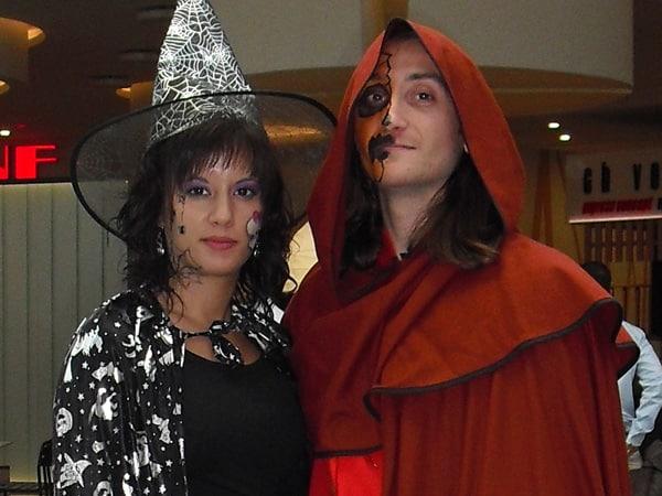 Maquilladores - Pintacaras - Halloween - Rio Shopping - lápiz creativo