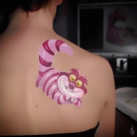 bodypaint - gato rison - lápiz creativo