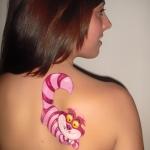 tatuaje disney - gato rison - bodyapint - lápiz creativo