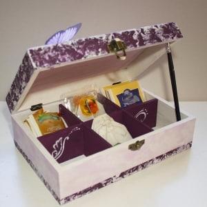 decoración de cajas de madera - tutorial - lápizcreativo