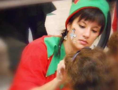 Maquillaje de Navidad para niños