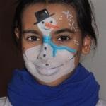 Pintacaras - Maquillaje Navidad - lápizcreativo