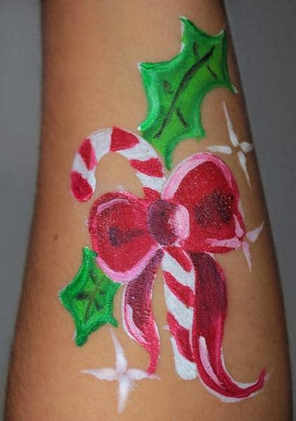 Maquillaje Navidad - pintacaras - lápizcreativo