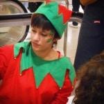 Maquillaje Navidad - maquilaldora infantil - camper - corte inglés- Valladolid - lápizcreativo