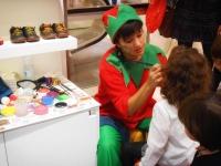 Maquillaje Navidad - maquilladora infantil - enventos - lápizcreativo
