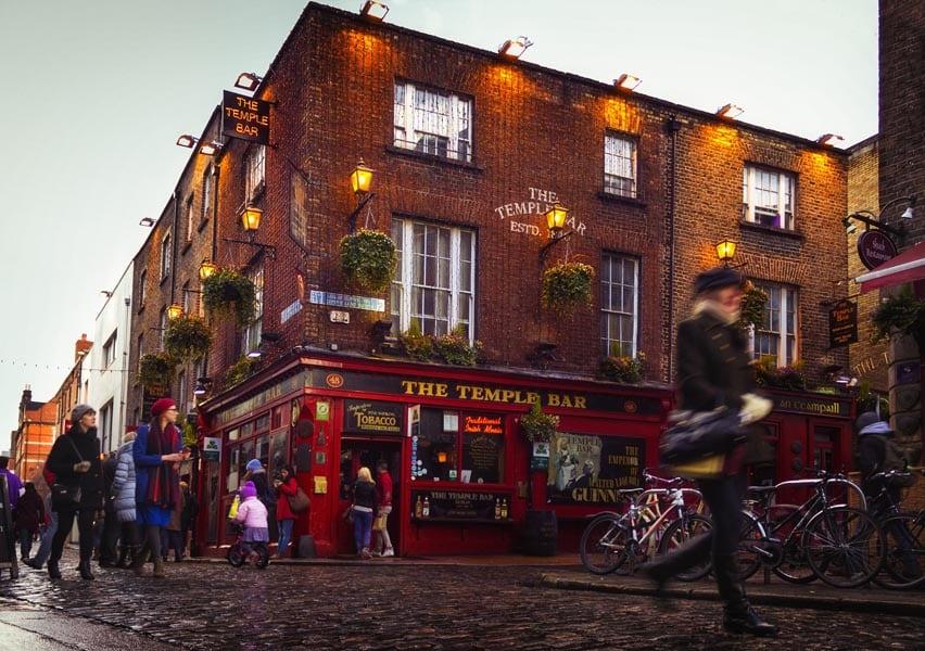 Temple Bar - Dublín - lápiz creativo