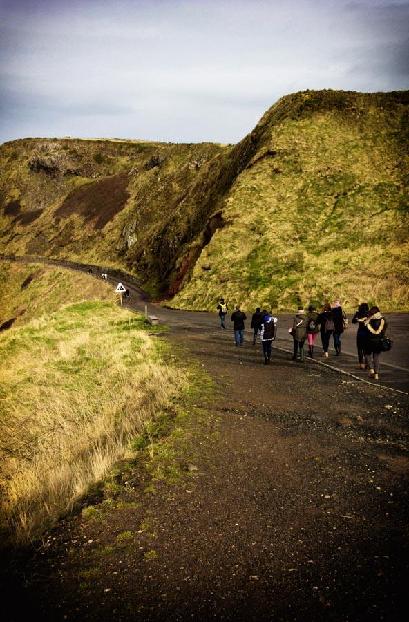 Fotografía de la Calzada del gigante en Irlanda - lapizcreativo