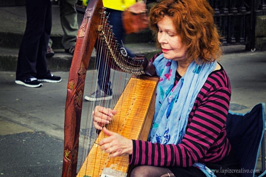live music - dublín - irlanda - lápiz creativo