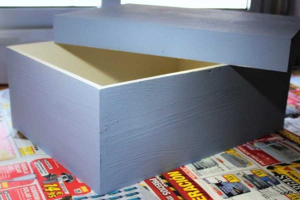Decorar - chalk paint - caja de madera - lápiz creativo