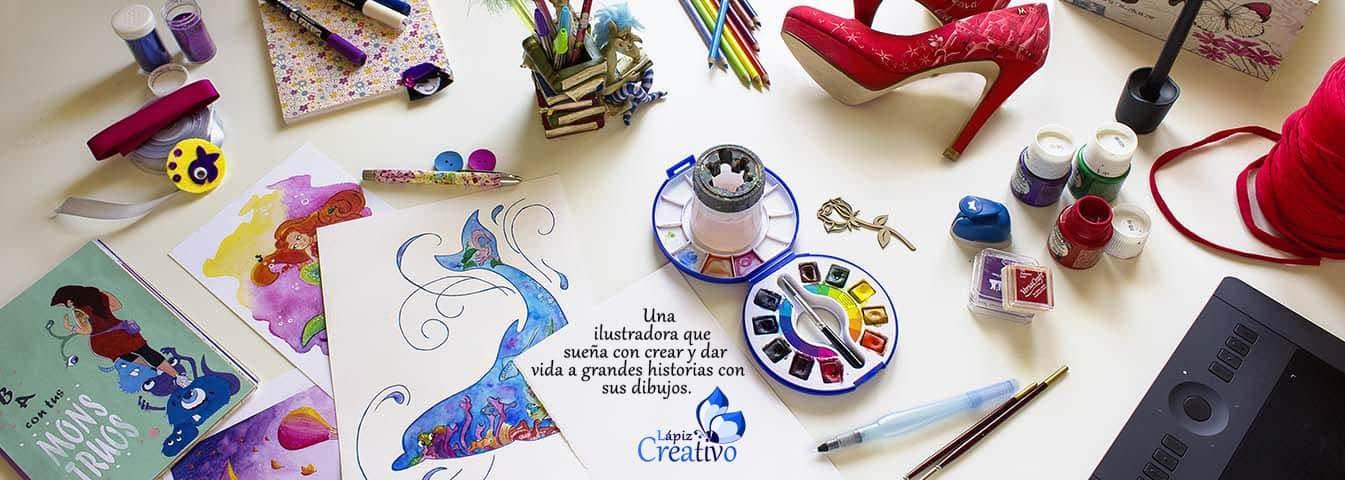 Ilustración - Creaticidad - Zapatos Pintados a mano - Papelería - Lápiz Creativo