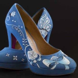 Zapatos de salón personalizados - lápiz creativo