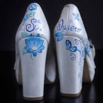 Zapatos pintados a mano - Zapatos de novia - Wedding Shoes - Wedding Pumps