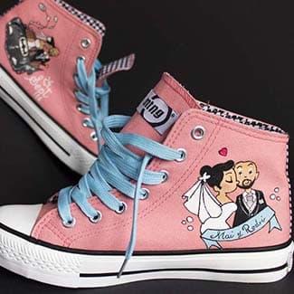 Zapatillas Personalizadas - Wedding Shoes - Handpainted