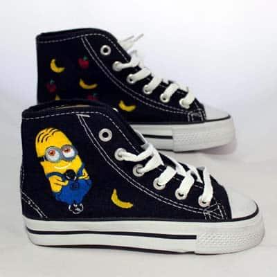 Zapatillas personalizadas - lápiz creativo