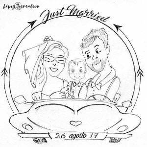 Just Married - Zapatillas - Lápiz Creativo