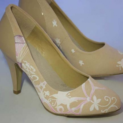 Tacones de cuento - Handpainted shoes
