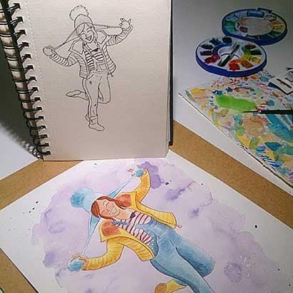 Ilustraciones Personalizadas - Ilustración Personalizada - lápiz creativo