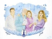 Cuadro de Familia - lápiz creativo