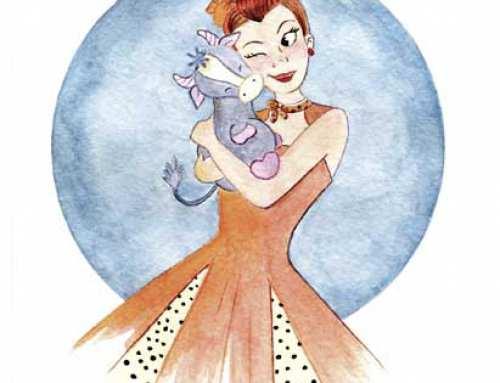 Ilustraciones para el horóscopo de un Magazine de moda
