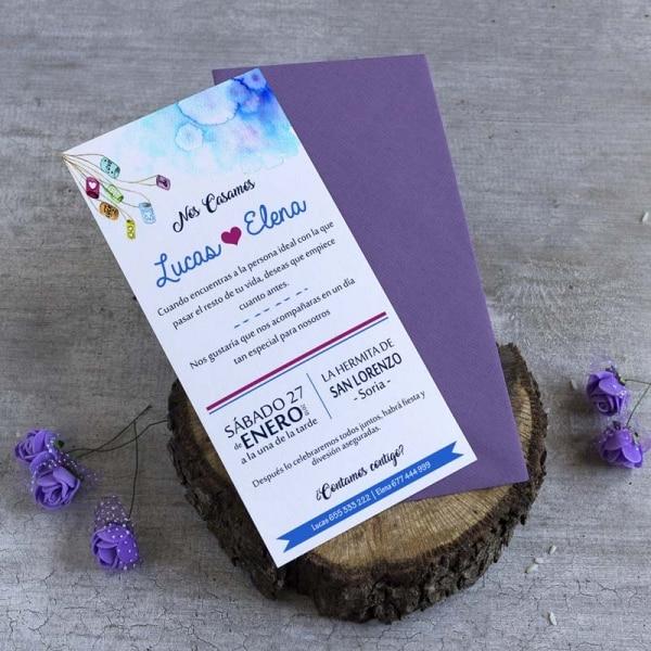 Invitaciones de boda - Tarjetas de Boda - Invitaciones para Bodas - Wedding - Invitaciones VIntage - Buhos - owls - Save the date - LapizCreativo