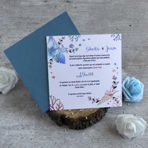 Invitaciones de Boda - Océano
