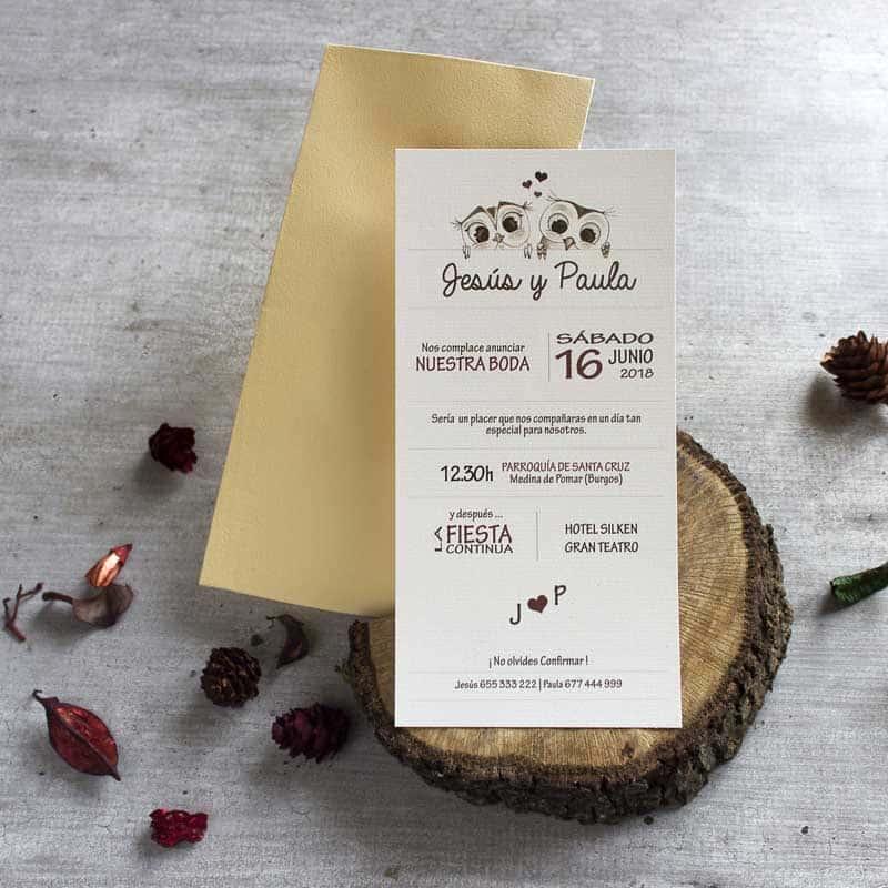 Invitaciones Cómo imprimirlas en casa