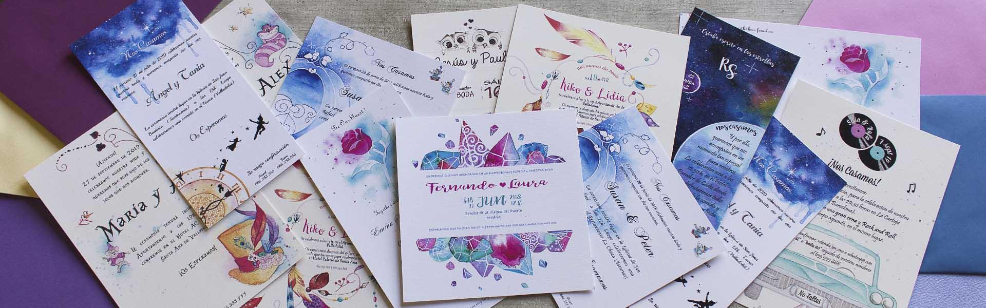 Invitaciones de Boda Ilustradas - Lápiz Creativo
