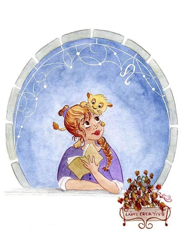 Ilustraciones - horóscopo - zodiaco - tauro - acuarelas - dibujos - revista moda - tendencias - fashion - blog de moda - Leo - Lápiz Creativo