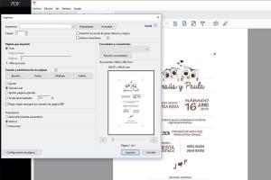 Invitaciones de boda en pdf