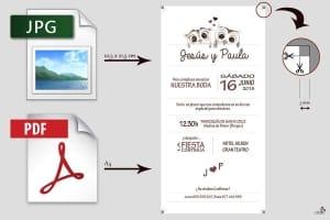 Cómo imprimir mis invitaciones de boda