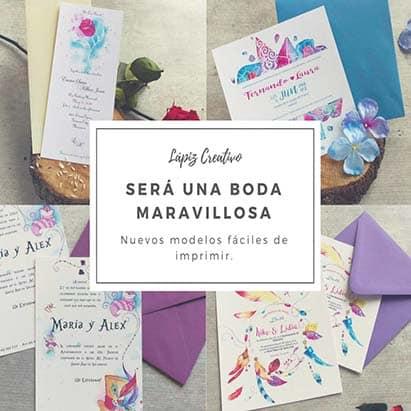 Cómo imprimir tus invitaciones de boda