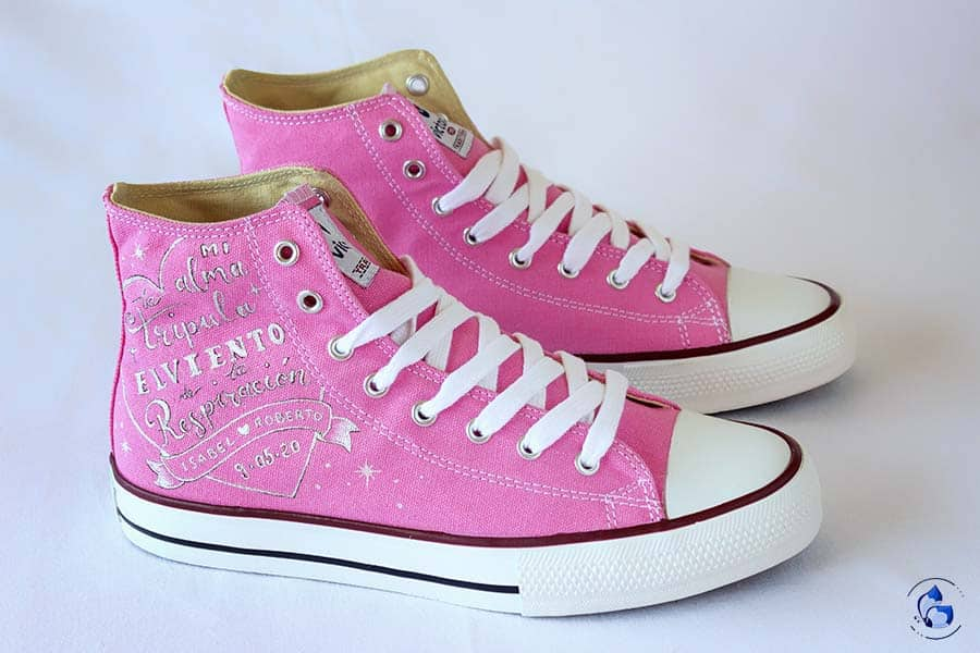 Zapatillas de novia _ regalos para novios