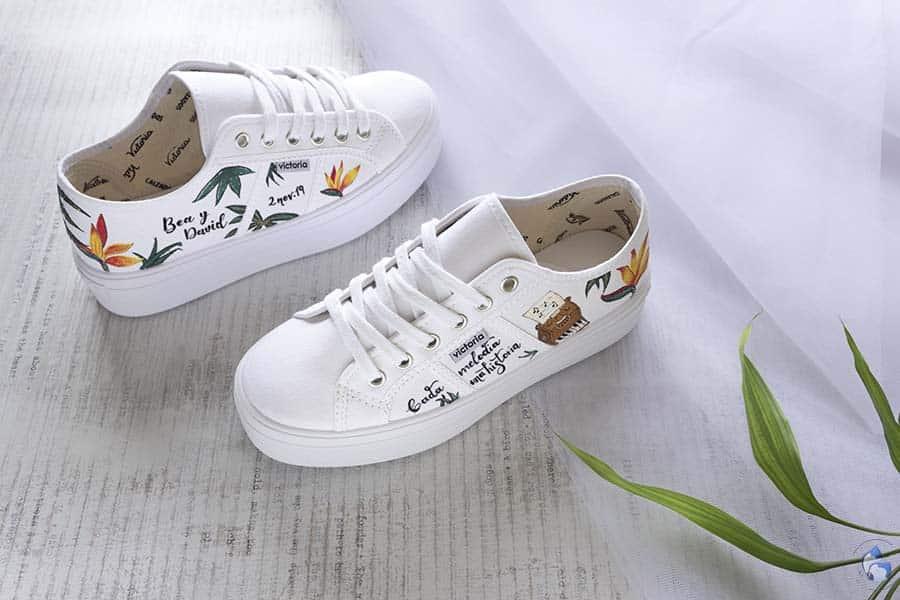 Zapatillas de novia _ Vans de novia _ regalos para novios