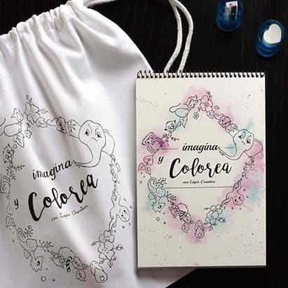 Imagina y Colorea - Lápiz Creativo