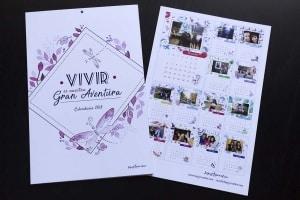 Calendario 2018 - calendario personalizado - lápiz Creativo