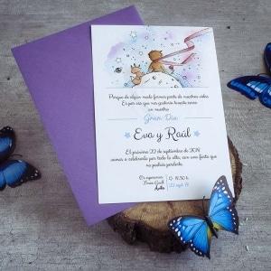 Invitación de boda _ el Principito