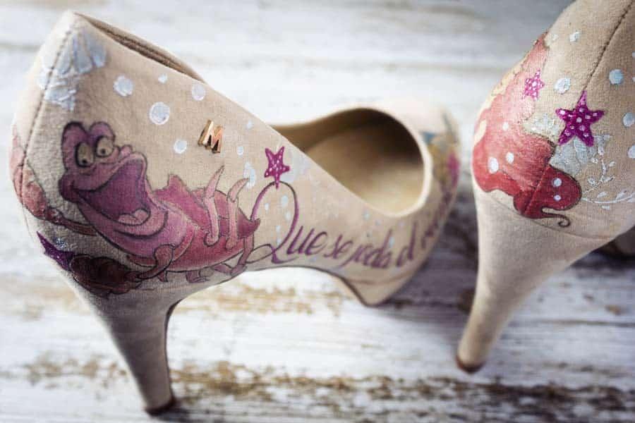 Zapatos para invitadas _ La Sirenita