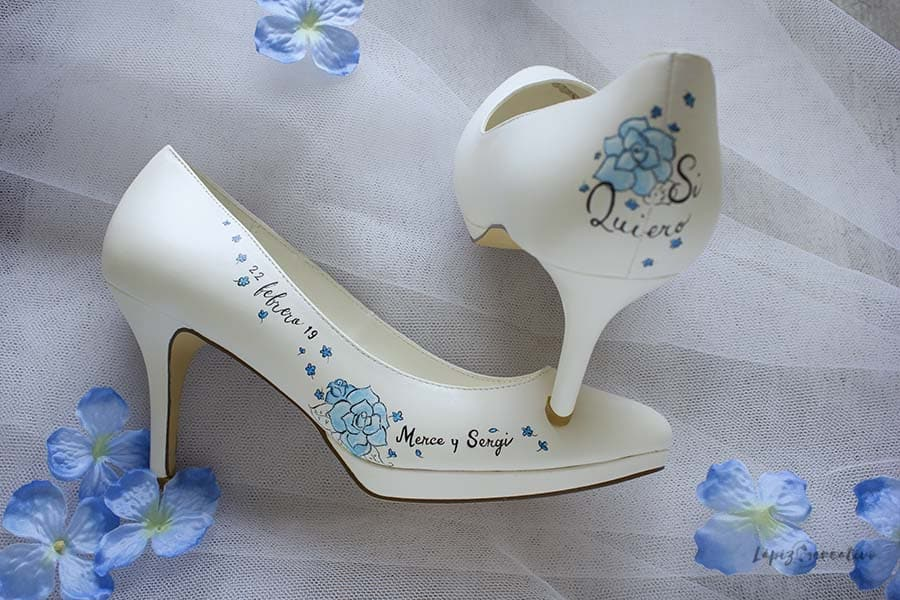 Zapatos de Novia Decorados