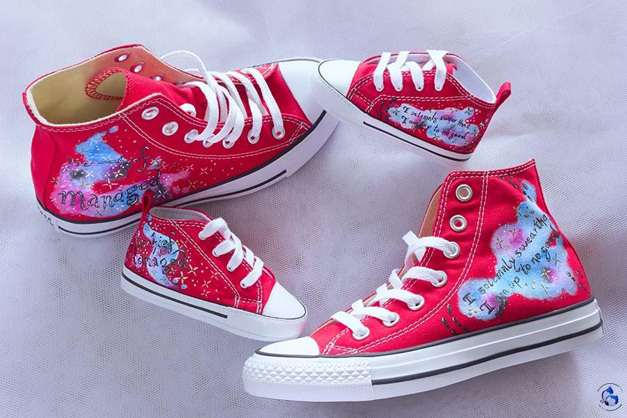 Zapatillas Personalizadas _ Patucos Pintados _ LapizCreativo