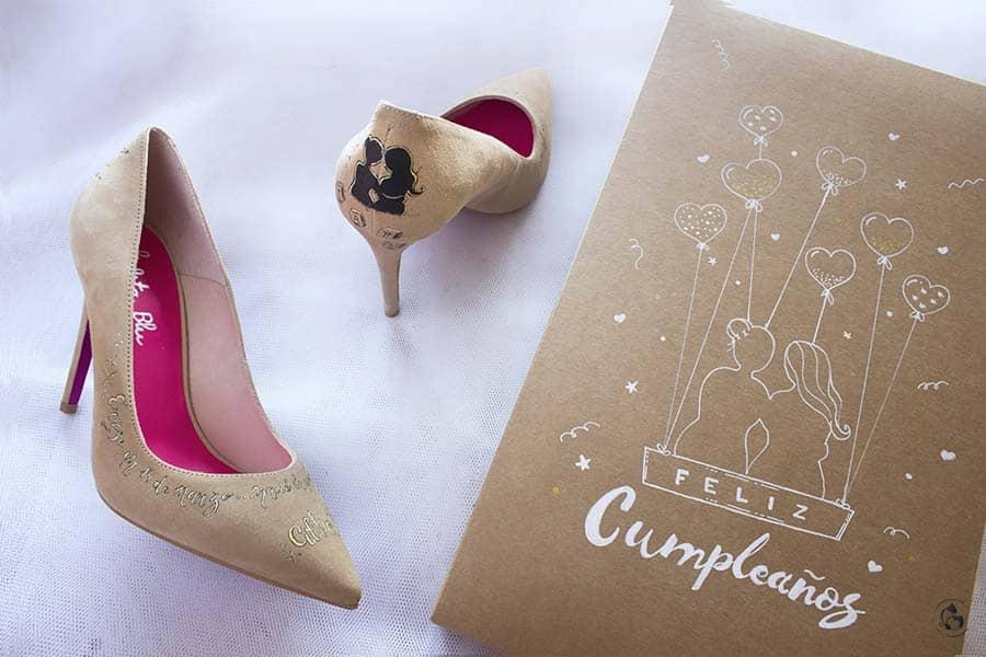 Zapatos Decorados para tu 30 cumpleaños