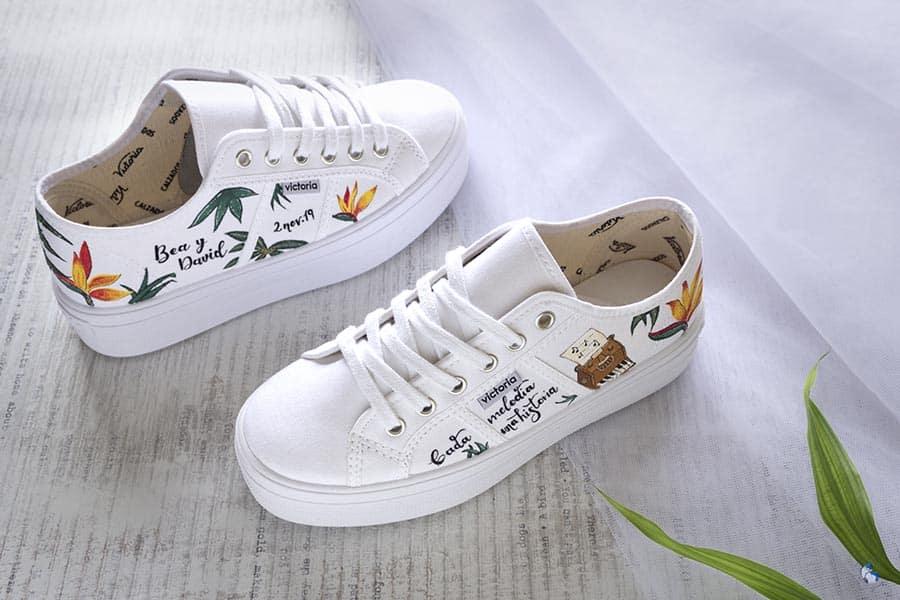 Zapatillas Personalizadas para Despedida de Soltera _ Lapiz Creativo