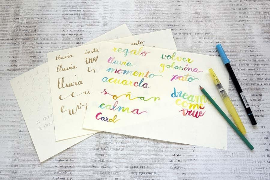 Mente Creativa y Manos Creativas _ Lettering _por Lápiz Creativo