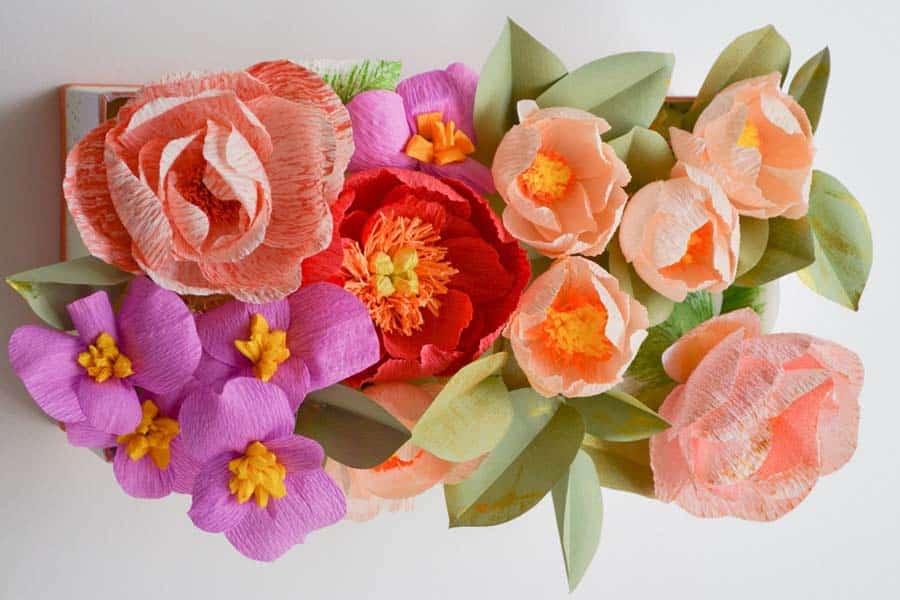Nikua _ Artesanía floral en papel