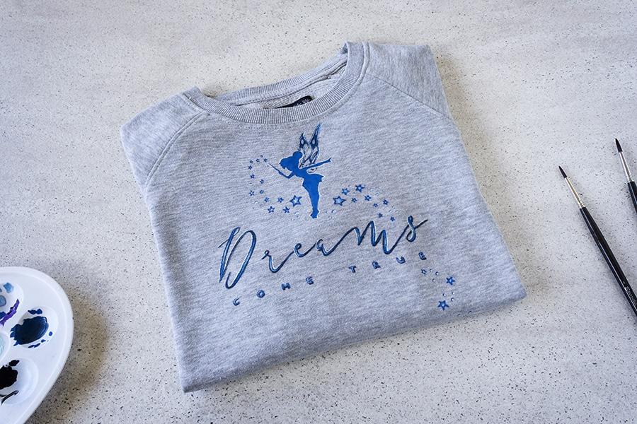 Pintar Camisetas _ Dreams come true _ Lapiz Creativo