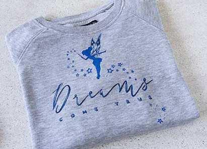 Regalos Originales _ Camisetas Pintadas _ Pintar Camisetas_ Dreams come true _ Lapiz Creativo