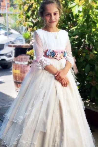 Vestido de Comunión _ Natalia _ delanovia _ Lapizcreativo