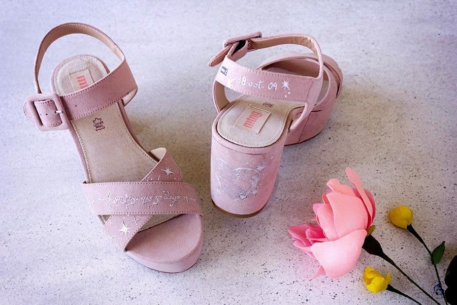 Zapatos Pintados a mano _ Zapatos de novia _ Zapatos Personalizados