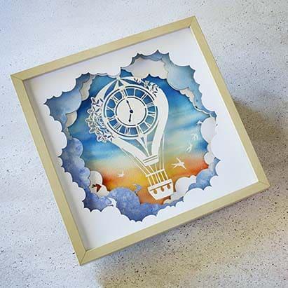 PaperCut Art _ Ilustraciones con papel