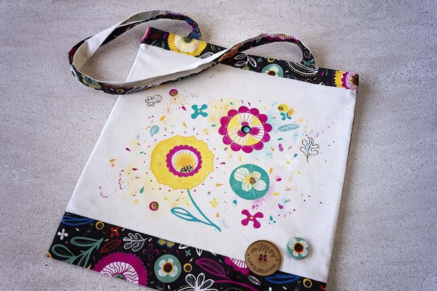 Tote Bag miMos _ Bolsas de tela decoradas _ LapizCreativo